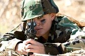 female soldier life insurance